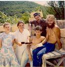 С Мамочкой 1994 год, стройка
